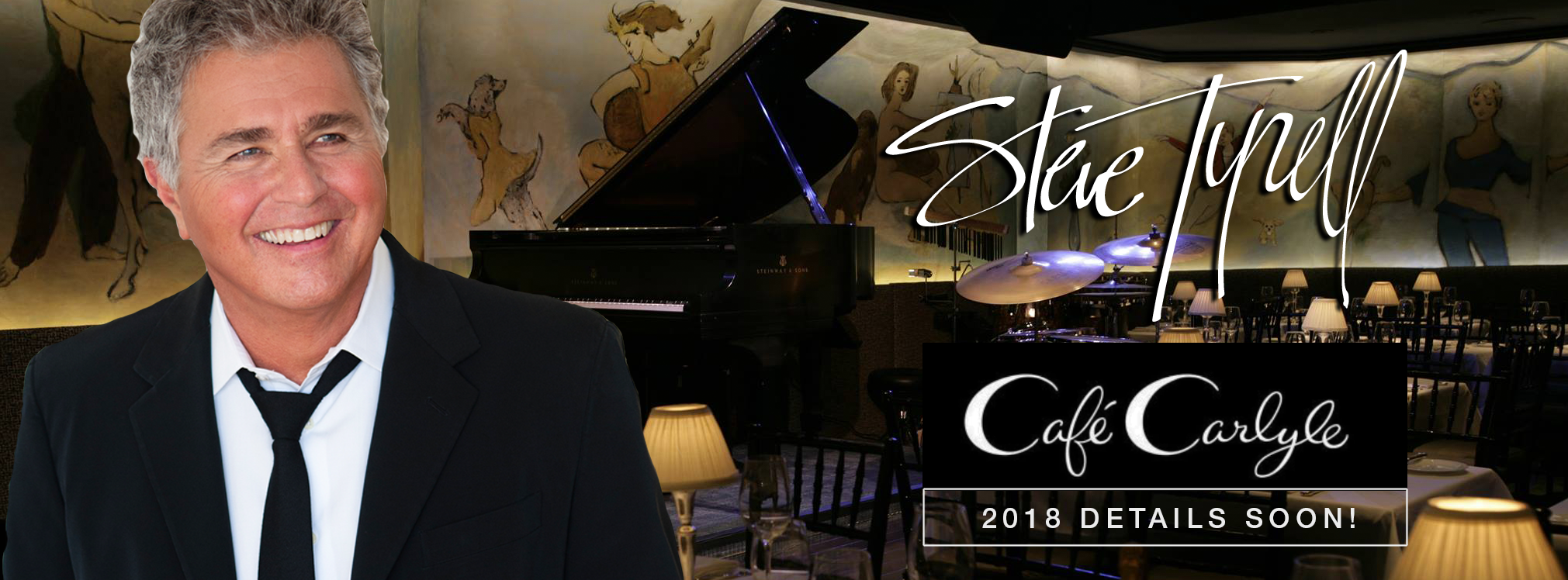 Steve Tyrell at The Cafe Carlyle 2018